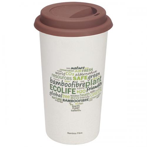 ספל טרמי אקולוגי עם הדפסת Eco Tree
