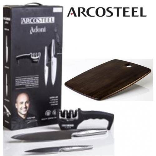 סט שף איכותי בתוספת קשר חיתוך – מאיר אדוני ARCO