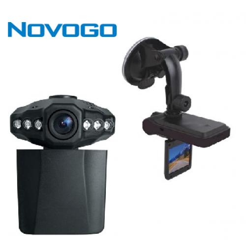 מצלמת HD לתיעוד הנסיעה ברכב + מטען לרכב NOVOGO