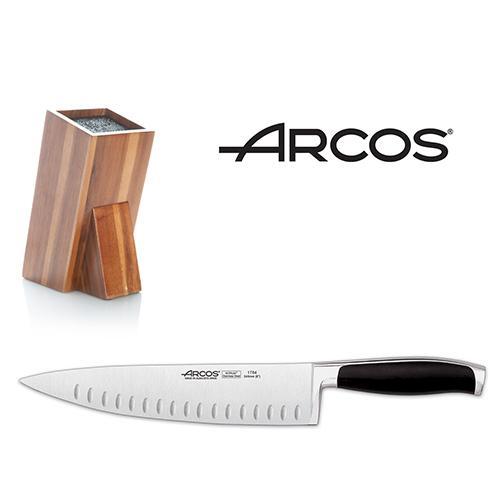 סכין לשף ובלוק סכינים ARCO