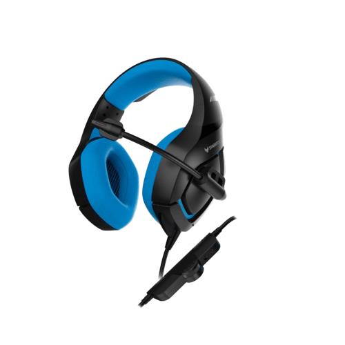 אוזניות גיימינג בעיצוב מיוחד עם ביטול רעשי רקע
