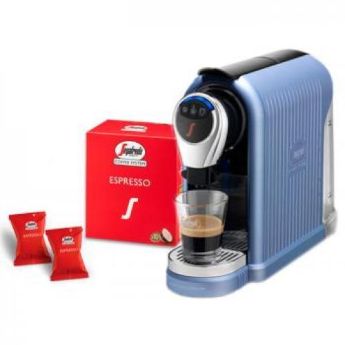 מכונת אספרסו ביתית מעוצבת לקפה איטלקי מושלם SEGAFRDO+ערכת טעימות