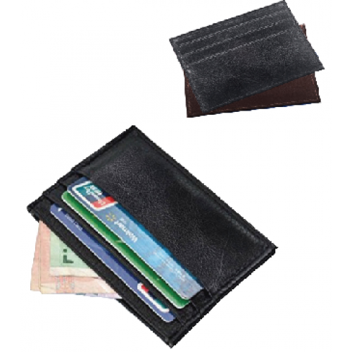 ארנק לכרטיסי אשראי ושטרות  עור איטלקי