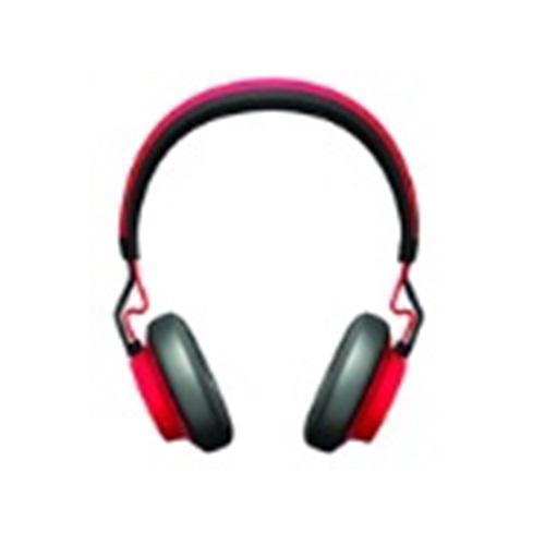 אוזניות אלחוטיות מעוצבות ואיכותיות בצבע אדום מבית ג'ברה