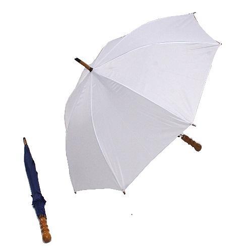 """מטריה ארוכה """"23 פתיחה אוטומטית מנגנון מחוזק וידית עץ מהודרת"""