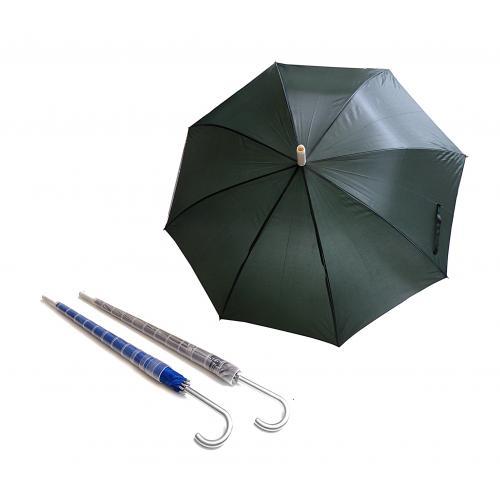 """מטריה שרוול """"23 פתיחה אוטומטית ידית כסף"""