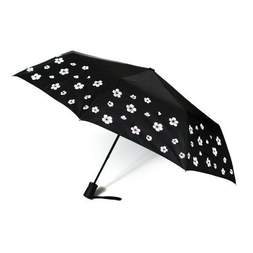 """מטריה """"21 מתקפלת פתיחה אוטו.משנה צבע בגשם"""