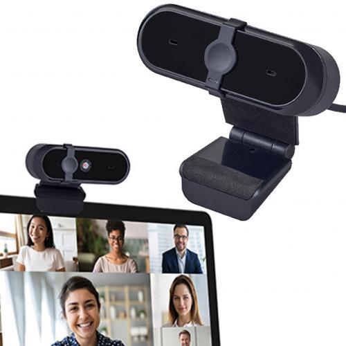 מצלמת רשת למחשבFULL HD עם תריס ביטחון להגנת הפרטיות