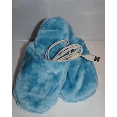 נעלי בית מתחממות USB