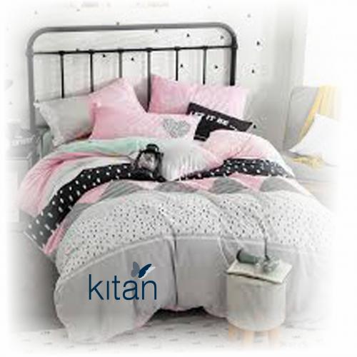 סט מצעים למיטת יחיד 100% כותנה מבית כיתן