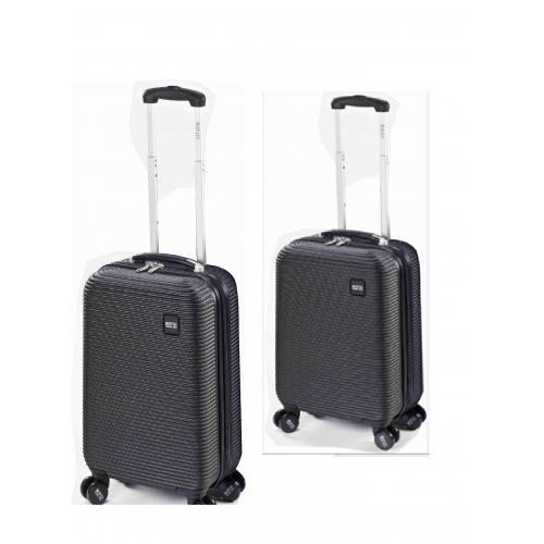 """זוג מזוודות 20"""" SWISS GLOBAL"""