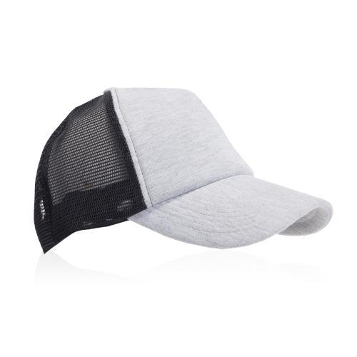 כובע מצחיה רשת בשילוב בד מיקרופייבר