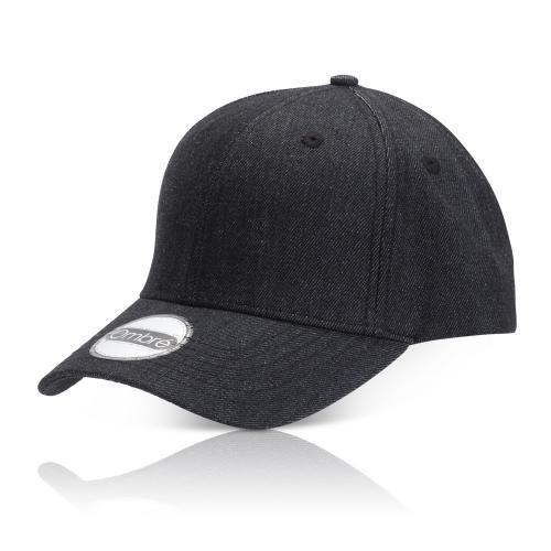 כובע אופנתי מבד ג'ינס + פלקס