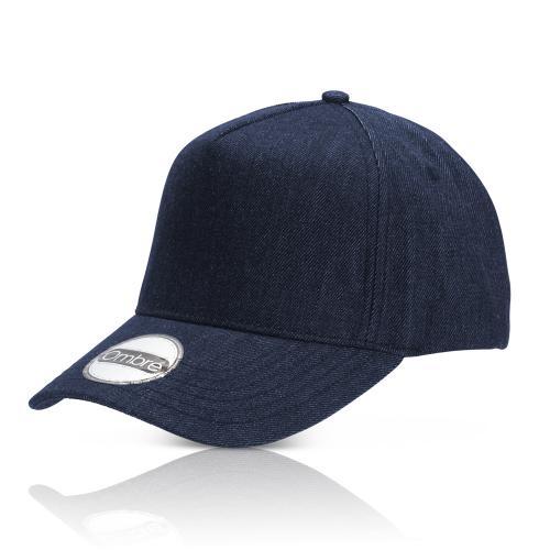 כובע אופנתי מבד ג'ינס