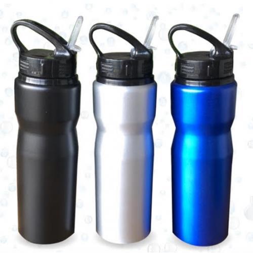 """בקבוק אלומיניום למשקה קר 750 מ""""ל"""