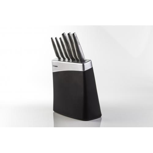 סט שף 7 חלקים - סכינים + מעמד - מאיר אדוני ארקוסטיל ARCOSTEEL