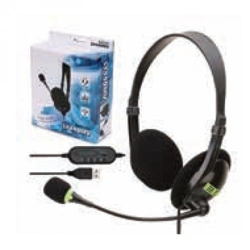 אוזניות קשת + מיקרופון - SY440MV דגם חיבור USB