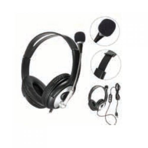 אוזניות קשת + מיקרופון חיבור USB דגם SY-22
