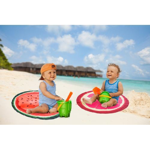 """מיני מגבת חוף עגולה לילדים קוטר 70 ס""""מ"""