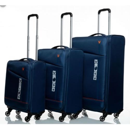 סט 3 מזוודות בד איכותיות של המותג האיטלקי  RONCATO JAZZ   מבית GURO