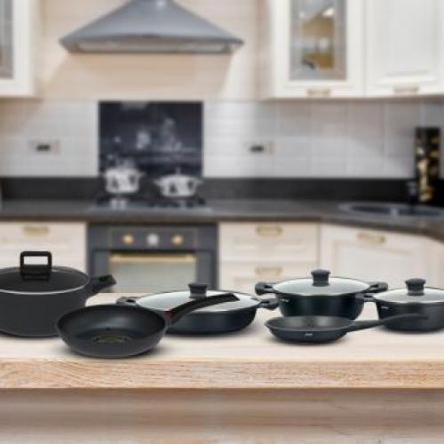 סט סירים מושלם למטבח 5 חלקים מבית Naaman