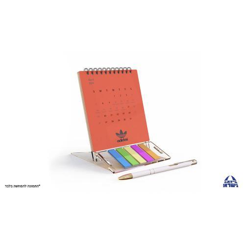 לוח שנה מעוצב עשוי פלסטיק