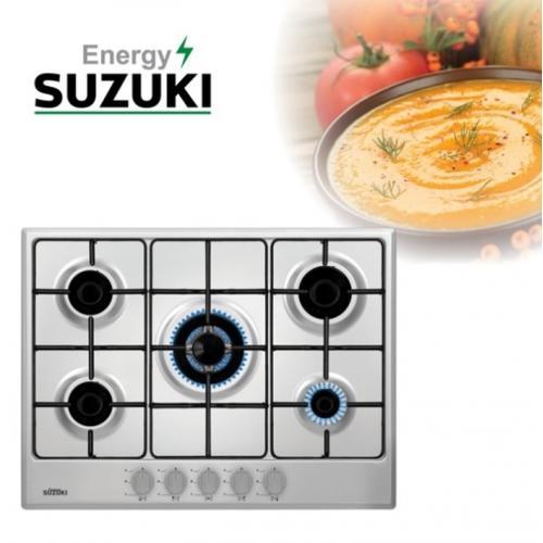 סוזוקי כיריים נירוסטה 5 להבות SUZUKI ENERGY