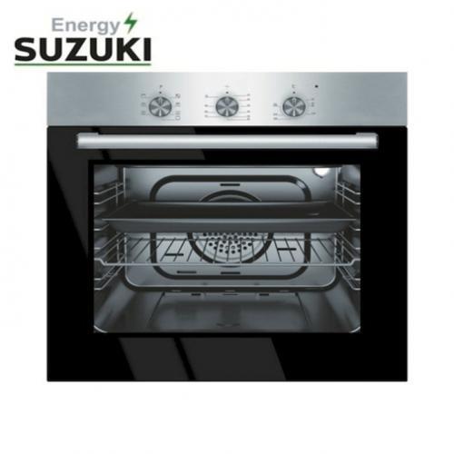 סוזוקי תנור בנוי נירוסטה כפתורים שקועים SUZUKI ENERGY