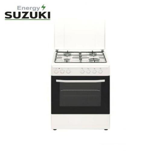 סוזוקי תנור עומד משולב לבן SUZUKI ENERGY
