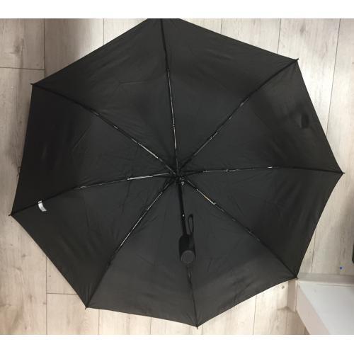 מטרייה מתקפלת -פתיחה אוטומטית+זרועות סיליקון  ומנגנון התהפכות ברוח