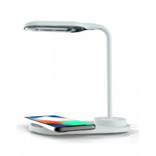 מנורת LED שולחנית בעלת מטען אלחוטי