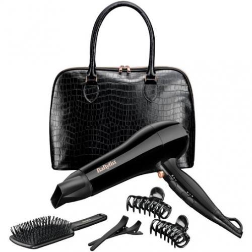 ערכת טיפוח עם תיק מייבש שיער מסרק וקליפסים