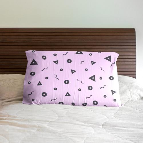 ציפית לכרית מיטה כולל הדפסה צבעונית מלאה