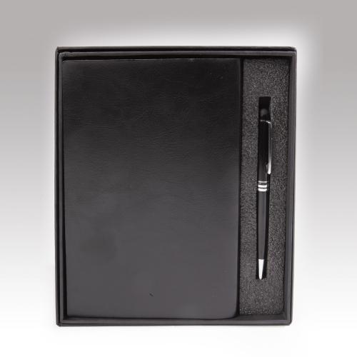 קופסה מהודרת למחברת A5 ועט