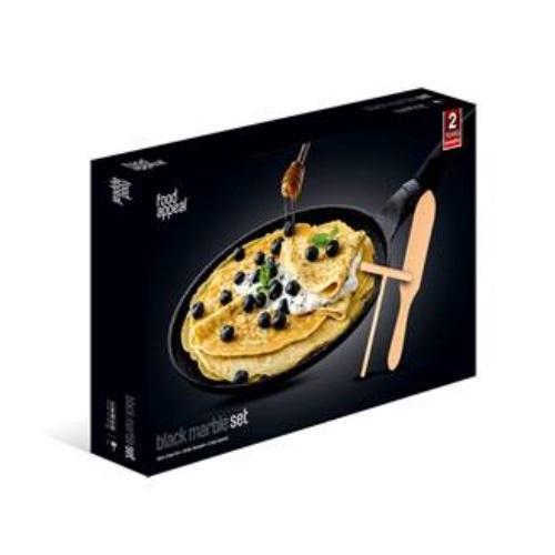 מחבת פנקייק + אביזרים מבית Food Appeal
