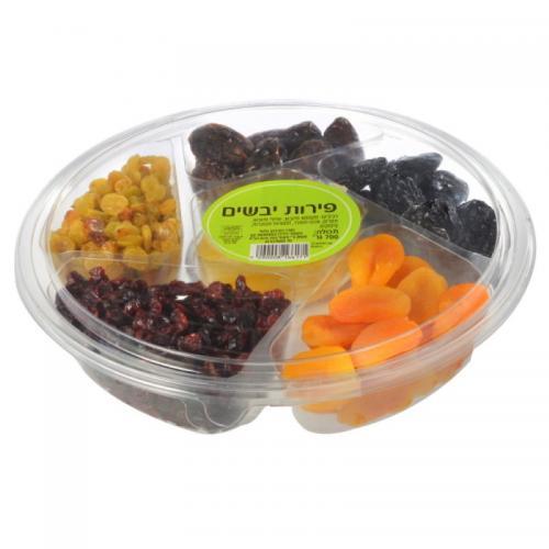פירות יבשים תמרים שזיפים צימוקים חמוציות ומשמש