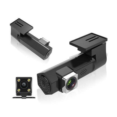 זוג מצלמות לרכב קדמית ומצלמה אחורית לרכב הפועלת באמצעות Wifi