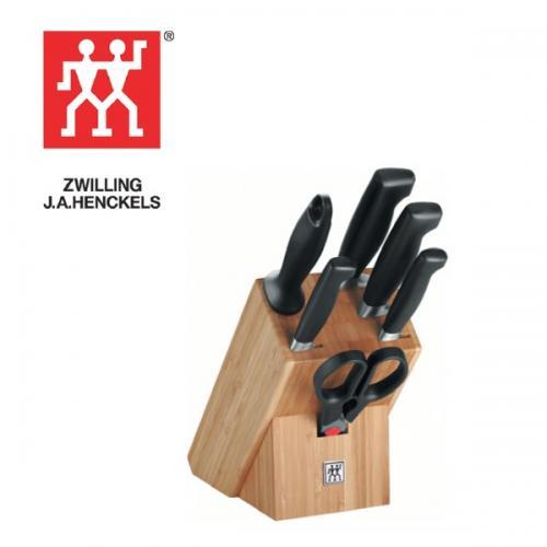 בלוק סכינים 7 חלקים  FOUR STAR - ZWILLING