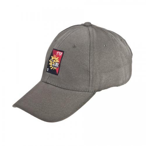 כובע כותנה סרוקה זית