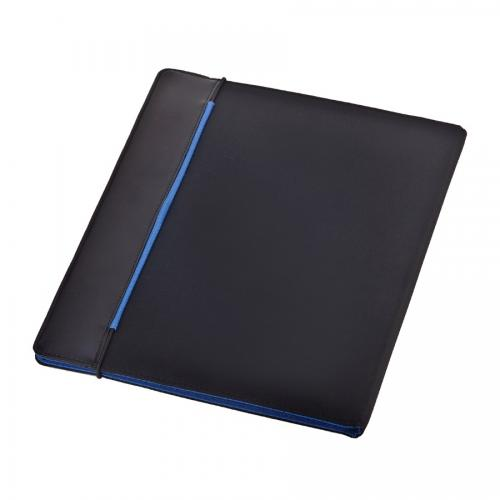 מכתבייה מהודרת עם בלוק נייר A4 כחול