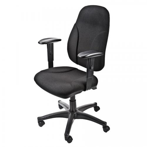כסא מזכירה ליאור ידיות מתכווננות
