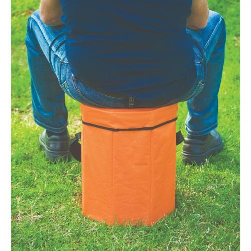 כסא צידנית מתקפל 32 ליטר כתום