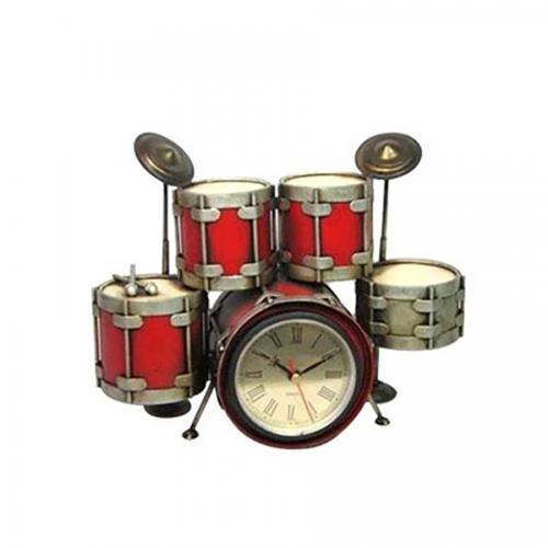 מערכת תופים רטרו עם שעון