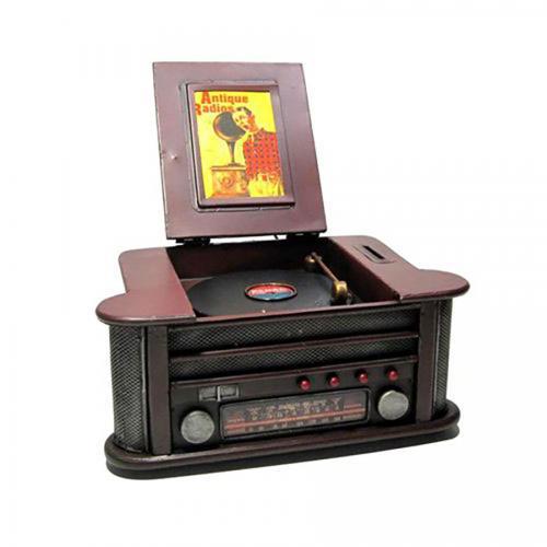 פטיפון מכונת תקליטים רטרו