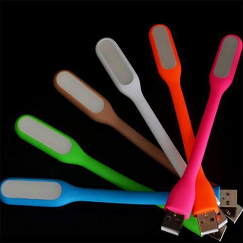 מנורת סיליקון עם כניסת USB