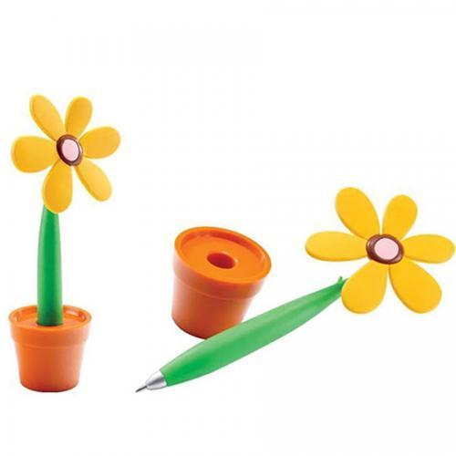 עט פרח בעציץ