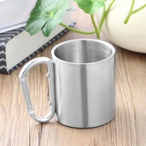 כוס נירוסטה מעוצבת עם שאקל