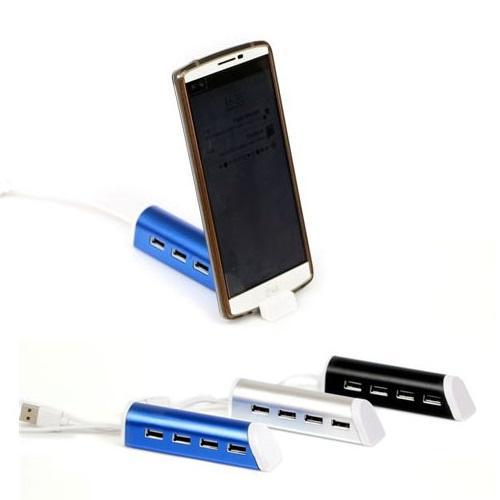 מעמד לטלפון נייד משולב מפצל USB