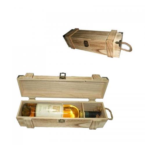 קופסאת עץ לבקבוק יין