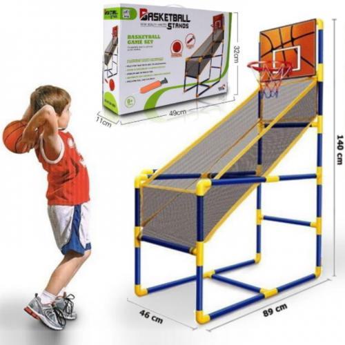 מעמד כדורסל לחצר או לחדר משחקים גדול